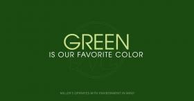Miller's Green BLOG
