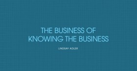 Business of Knowing Business Adler