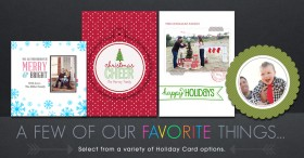 Miller's Holiday Card Options