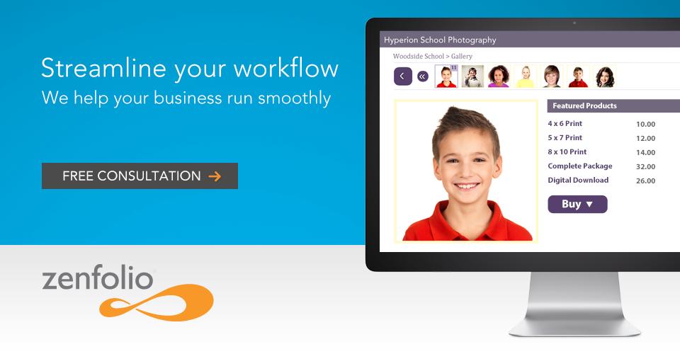 Streamline Your Workflow with Zenfolio
