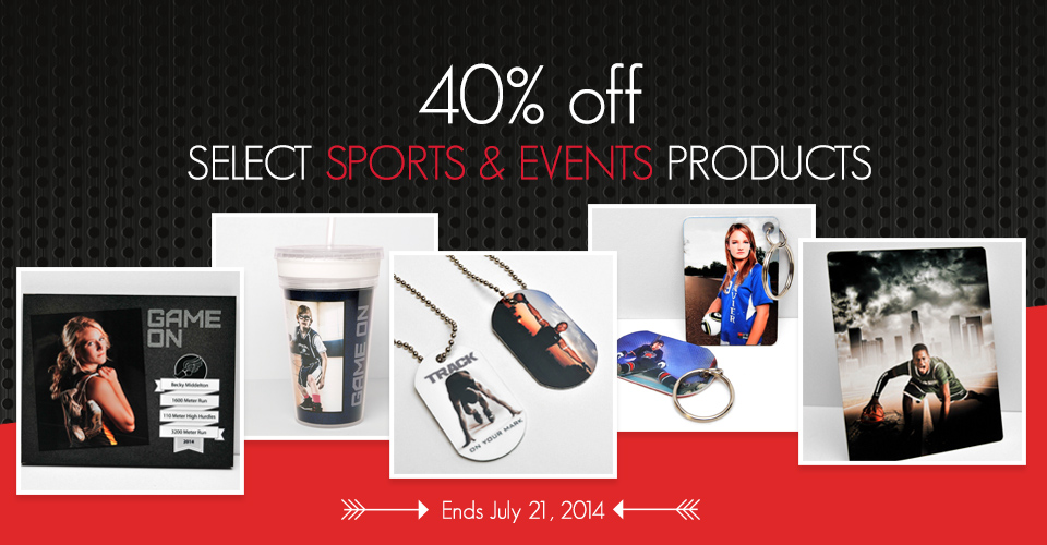 Sale: 40% off Select Sports Products