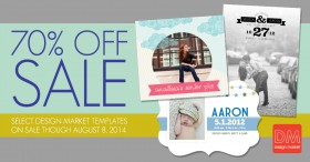 Sale: 70% off Design Market Templates