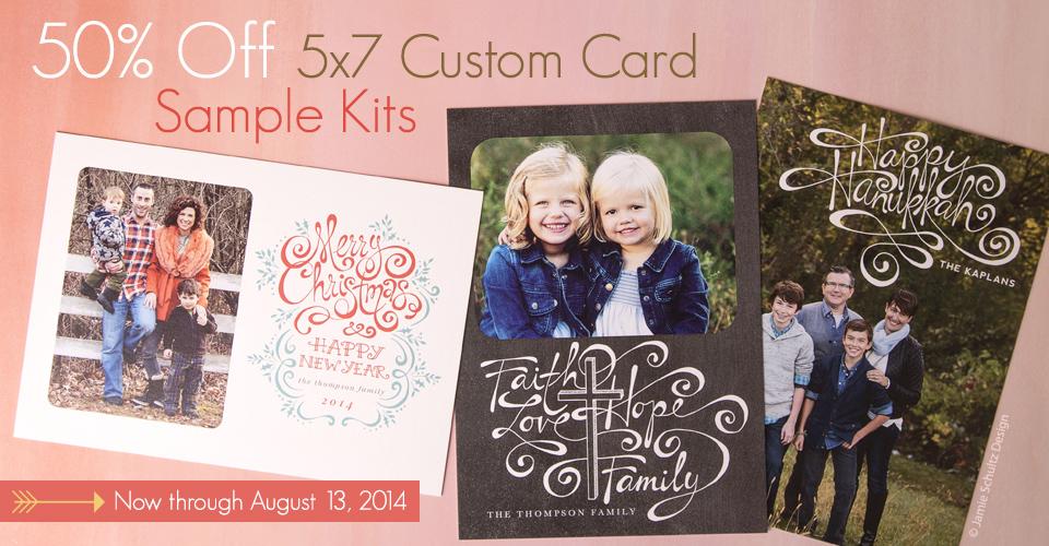 50-off-custom-card-sample-kit-aug.14