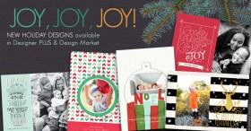 New Holiday Templates for Design Market