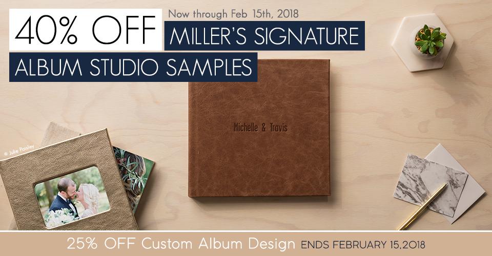 sale 40 off miller s signature album studio samples blog